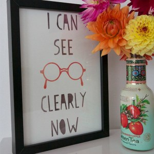 Print: I can see clearly now
